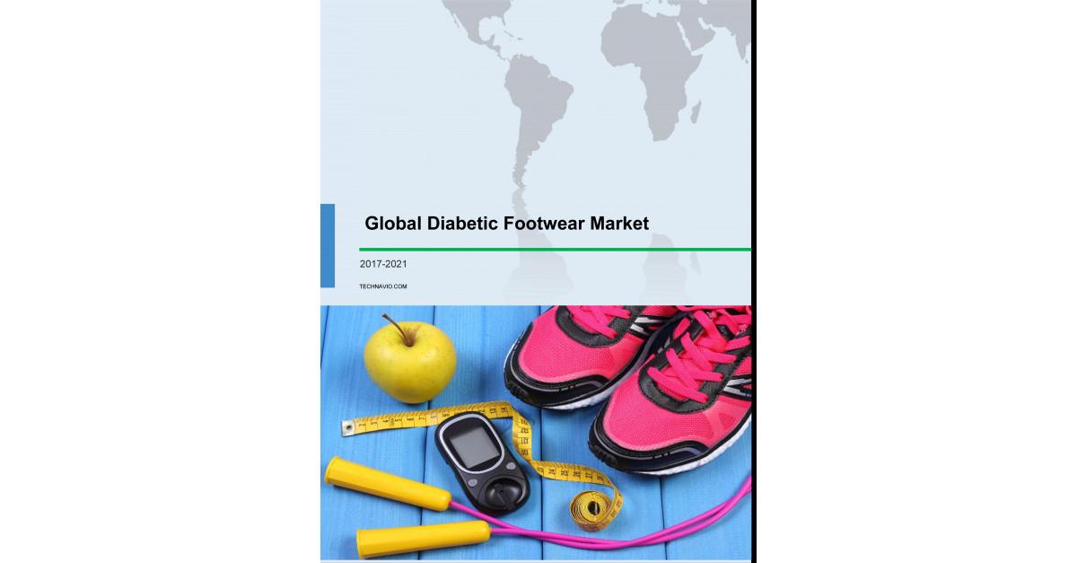 fd2624957971 Global Diabetic Footwear Market 2017-2021  Share   Size