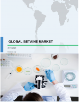 Global Betaine Market 2019-2023