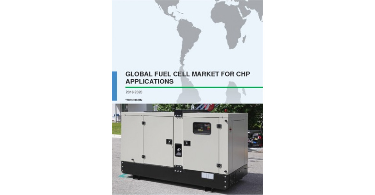Global Fuel Cell Market for CHP Applications 2016-2020